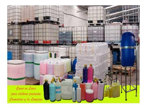 curso taller para elaborar productos de limpieza cosméticos