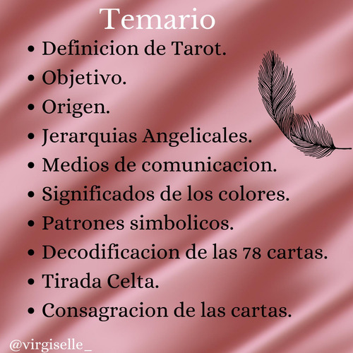 curso tarot angelical intensivo