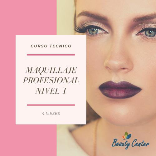 curso tecnico de maquillaje profesional nivel 1