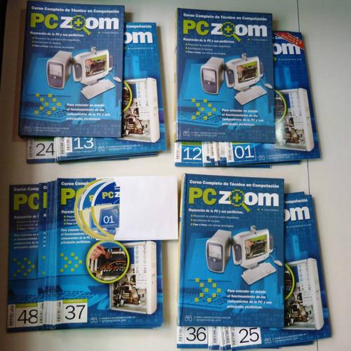 curso técnico pc zoom 48 fasc. + computación 2001 la nación