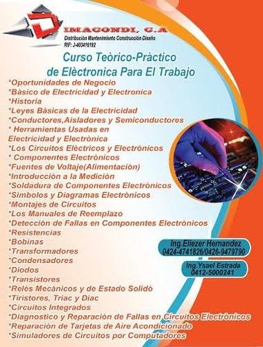 curso teórico - practico de electronica emitimos factura