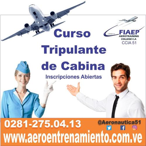 curso tripulante de cabina de pasajeros barcelona anzoátegui
