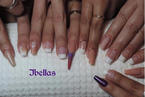curso uñas acrilicas,gelificadas, semipermanente, manicuria.