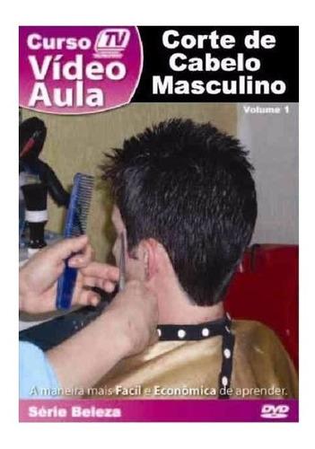 curso video aula corte de cabelo masculino renda extra traba