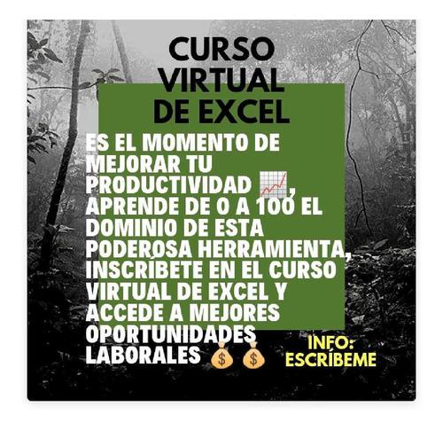 curso virtual de excel