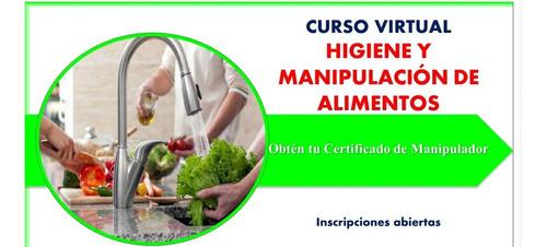 curso virtual  de higiene y manipulación de alimentos