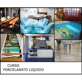 Curso Virtual De Porcelanato Liquido + Curso Pared 3d
