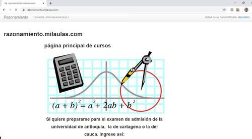 curso virtual de razonamiento lógico matemático