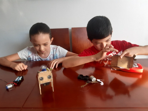 curso virtual practico de robotica para niños