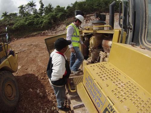 cursos capacitación de operadores de maquinaria pesada