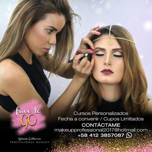 cursos de auto-maquillaje, maquillaje avanzado y profesional