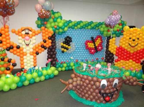 cursos de decoración con globos, formación profesional