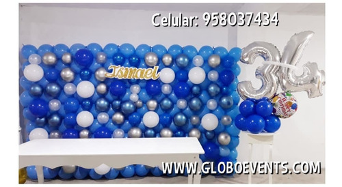 cursos de decoracion con globos - lima