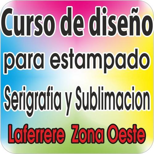 cursos de diseño para estampado serigrafia y sublimacion