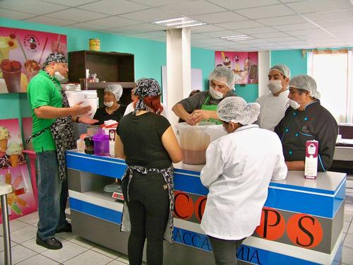 cursos de helados y paletas 100% artesanales