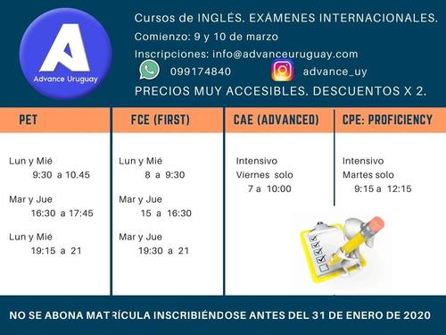 cursos de inglés intensivos, presenciales y online