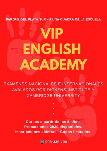 cursos de inglés - vip english academy