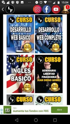 cursos de inglés y otros más