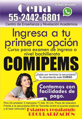 cursos de ingreso a la prepa. ¡garantizado!