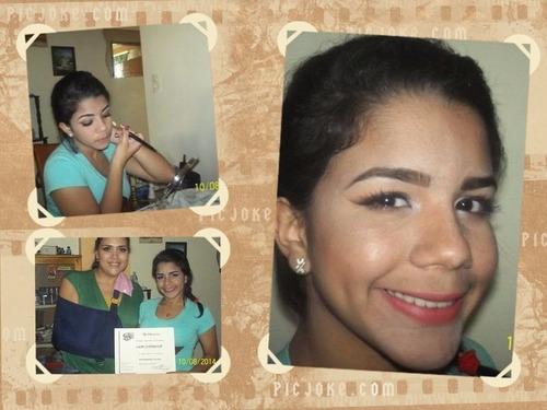cursos de maquillaje/diseño de cejas y pestañas