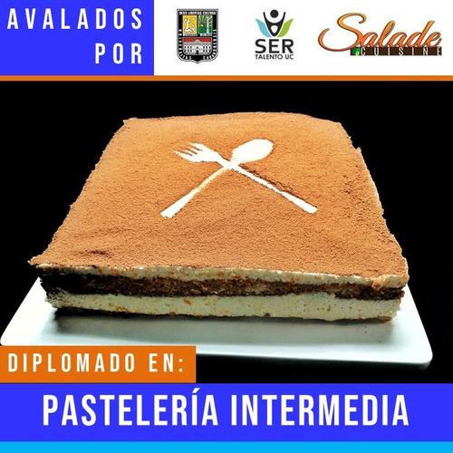cursos de panadería, pastelería y cocina