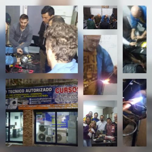 cursos de refrigeracion y aire acondicionado 100% practica