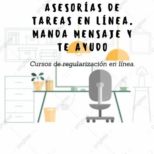 cursos de regularización en línea, club de tareas freelance.