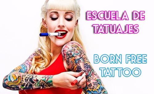 cursos de tatuajes artísticos salida laboral escuela tattoo