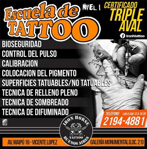 cursos de tatuajes - tattoo