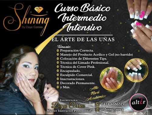 cursos de uñas acrilicas y gel educacion profesional 2019