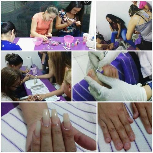 cursos de uñas - cejas - depilación - pestañas