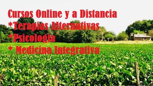 cursos online y a distancia :naturopatia,psicología, y mas