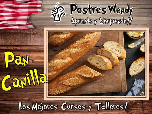 cursos talleres gastronomía repostería panadería pastelería