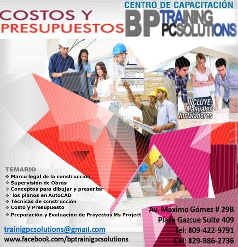 cursos talleres y diplomaodo,para ingenieros y arquitectos.