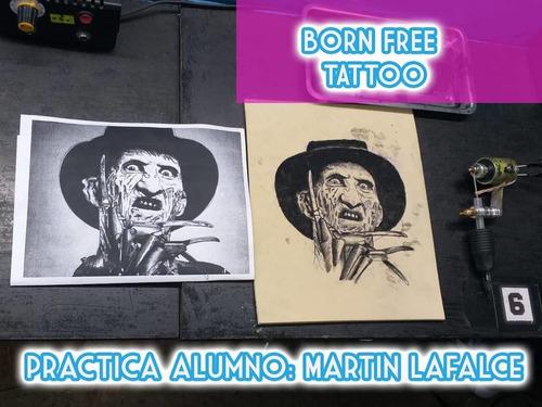 cursos tatuajes nivel 2 tattoo tatuar + dibujo academia
