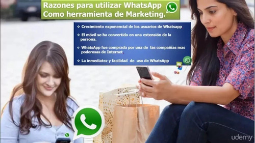 cursos udemy - aprende a vender por whatsapp paso a paso