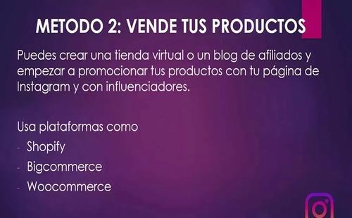 cursos udemy - instagram para negocios, empresas y marcas