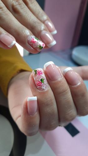 cursos uñas esculpidas+manicuria tradi+esmaltado permanente