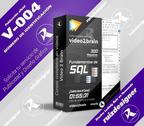 cursos video2brain en videos - fundamentos de sql