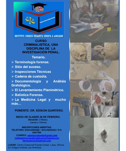 cursos y diplomados en el area tecnico jurídico