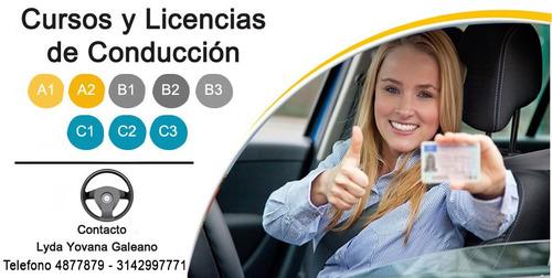 cursos y licencias de conducción bogota carro y moto