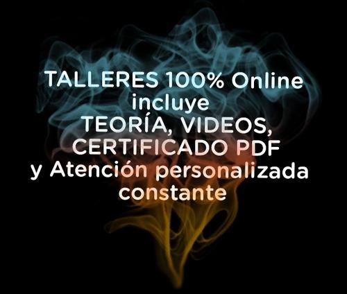 cursos y talleres 100% online