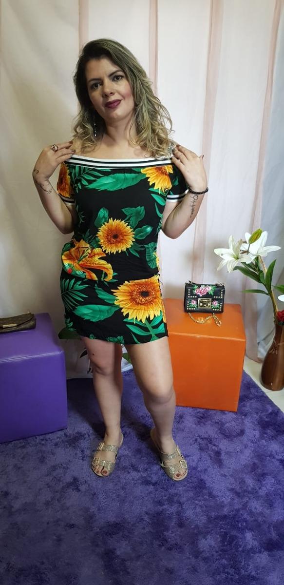 c00244160e Carregando zoom... vestido curto feminino soltinho viscose estampado verão  flor