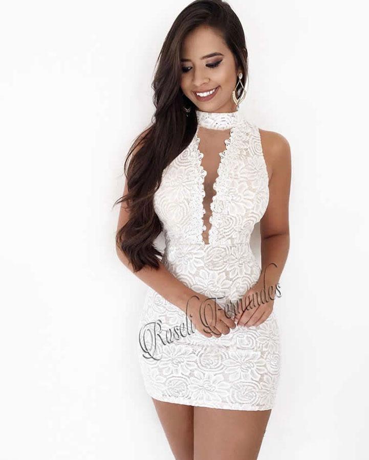 68d6a21a9 Carregando zoom... vestido feminino curto festa roupas direto fabrica em  renda