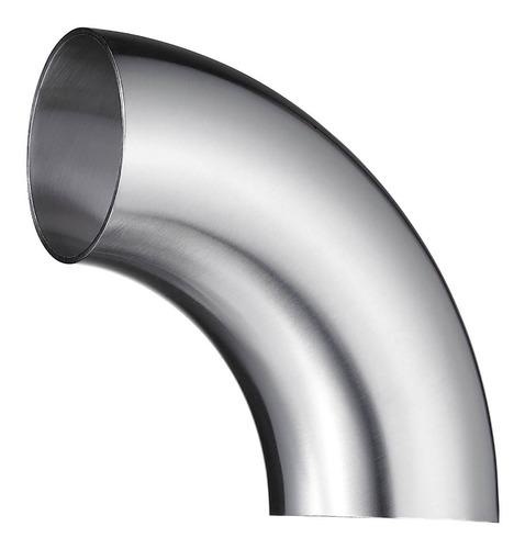 curva / codo 90° acero inoxidable 63,5 x 1,5mm (2.1/2 pulg)