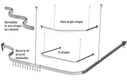 curva flexible de la barra de la ducha  serrapeptasa