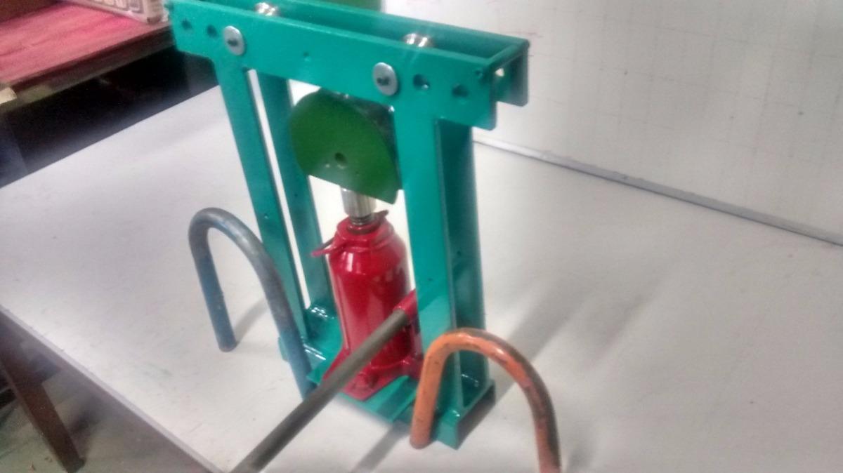 Curvadora de tubos hidr ulica manual 1 vgmec r 700 00 for Curvadora de tubos segunda mano