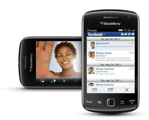 curve teléfono blackberry