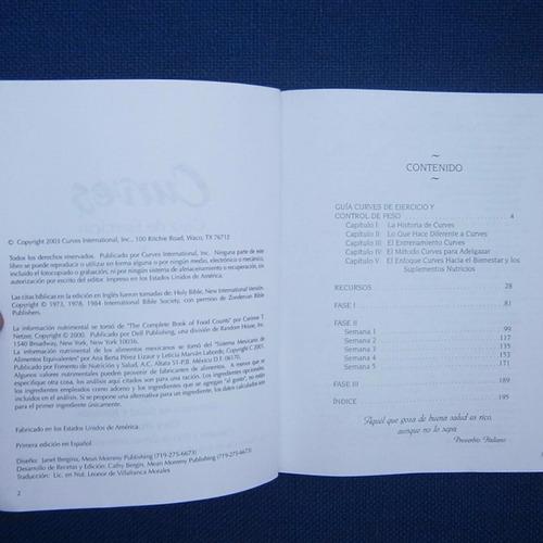 curves guia de ejercicio y control de peso, gary heavin, ed.