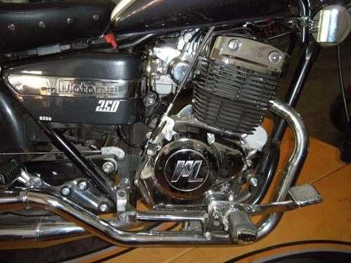 custom 250 dresser motomel
